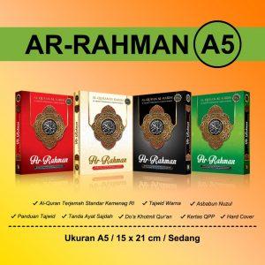al qur'an ar-rahman tajwid warna