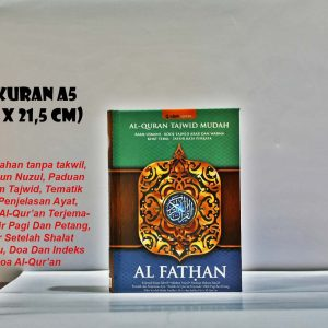 Harga Al Quran Al Fathan Tafsir Per Kata Tajwid Warna & Hafalan Mudah
