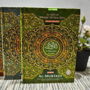 Al Qur'an Al Mubtadi waqaf ibtida jeda tajwid warna