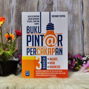 Buku Pintar Percakapan 3 Bahasa Inggris Arab & Indonesia