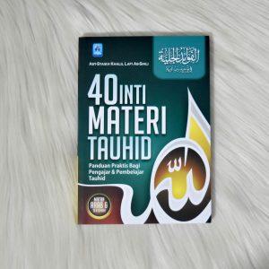 Buku 40 Inti Materi Tauhid